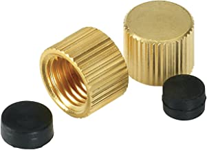 Homewerks VAC-CAP-W2B Waste Cap Replacement Part, 2-Pack, 5/16-Inch and 3/8-Inch