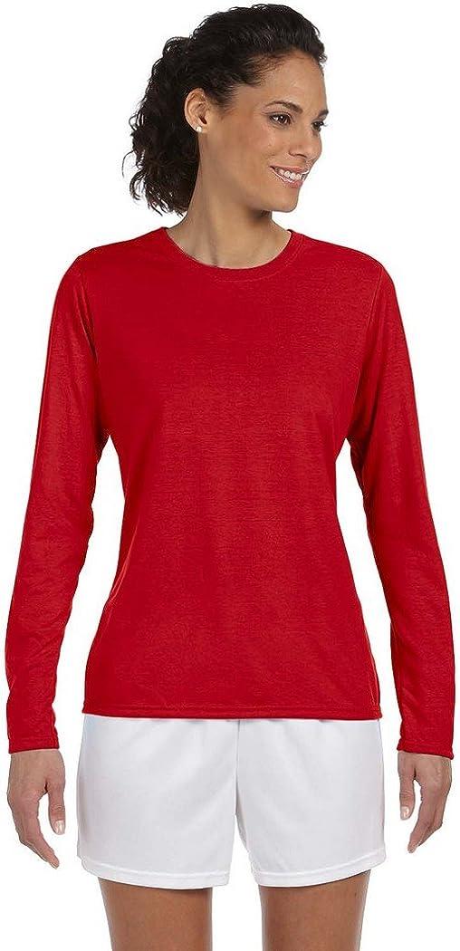 Gildan Ladies Performance Long Sleeve T-Shirt 20F