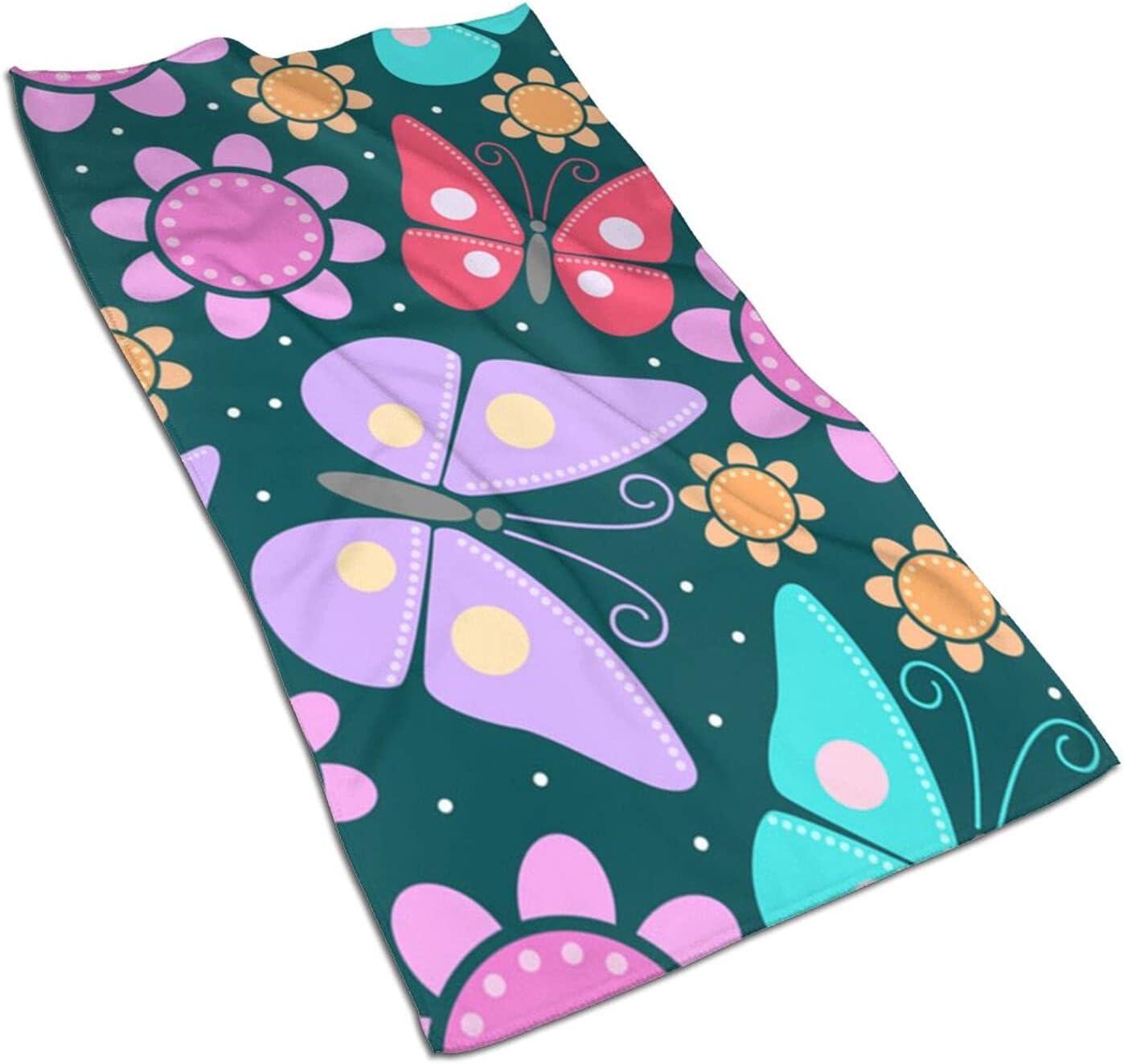 Butterfly Fingertip Towels Quick Face Towel Popular standard Drying Luxury Skin-Friendly