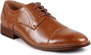 Metrocharm MC151 Men's Lace Up Cap Toe Oxford Shoes