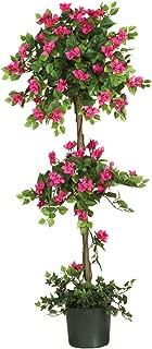 Nearly Natural 5228 Mini Bougainvillea Topiary Beauty, 5-Feet