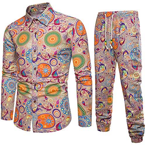 YFFUSHI Men's 3 Piece Suit Slim Fit Jacquard Tuxedo One Button Shawl Collar Jacket Vest & Trousers Black