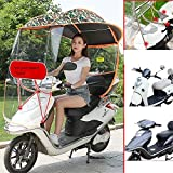 GFYWZ Universal Car Motor Scooter Sonnenschutz Regenschutz Regenschirm Mobilität Sonnenschutz Regenschutz Wasserdicht,I
