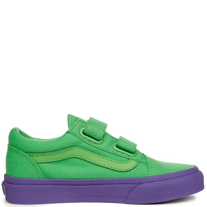 [バンズ] キッズスニーカー?靴 OLD SKOOL V COSPLAY GREEN VN0A38HDQQQ (Little Kid/Big Kid) Kid YOUTH [並行輸入品]