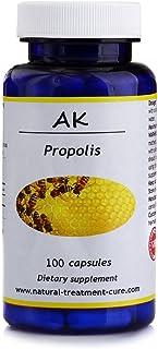 Hekma Center Pure Propolis - Raw - 100 Capsules - Vegan