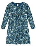 Schiesser Mädchen 1/1 Nachthemd, Blau (Dunkelblau 803), 92