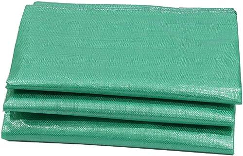 YHUJH Abat-Jour de bache imperméable Couvrant la bache de Pluie extérieure Plus épaisse, Vert là boutonnière (Taille   3  5cm)