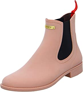 Gosch Shoes Stivaletti Donna Scarpe Stivali Impermeabile durchsichtig7105-150-0 in PVC