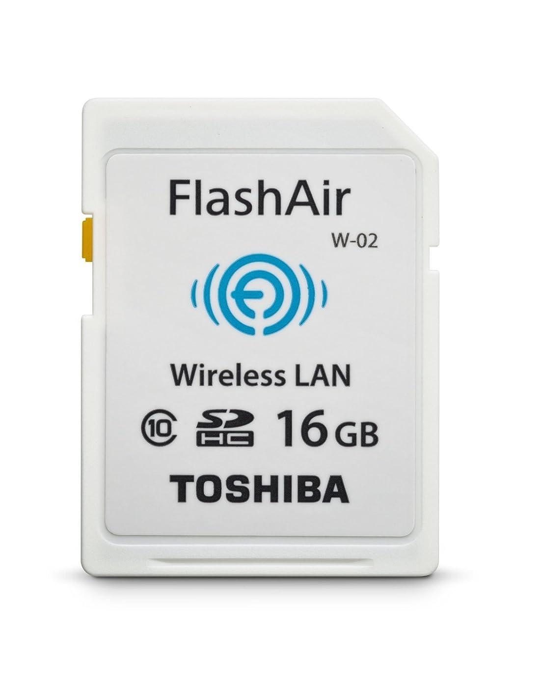 乱暴な実験的たまにToshiba Flash Air II Wireless 16 GB SD Memory Card (PFW016U-1BCW) [並行輸入品]