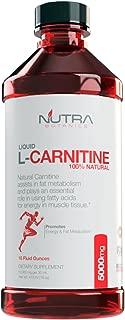Nutra Botanics High Strength Liquid L-Carnitine 5000 Mg, 16 Oz (473 ML)