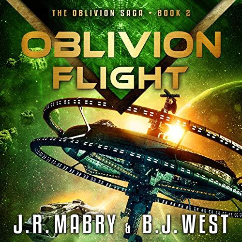 Oblivion Flight audiobook cover art