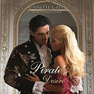 The Pirate's Desire audiobook cover art
