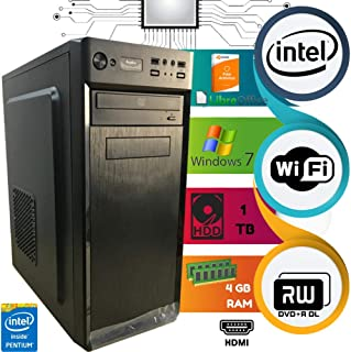 Computado Intel Pentium Dual Core HD 1 TB 4 GB Ram Com Wi-Fi D&D