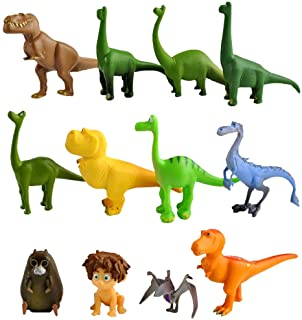 Dinosaur cake toppers figures Characters set of 12 Action Figure Toys Premium Dinosaur Cake Toppers Dinosaur cake decorations