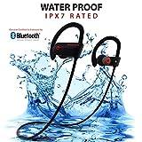 JiwaTech Inspire Wireless Bluetooth Earphones - Noise Cancelling Running Headphones with Mic