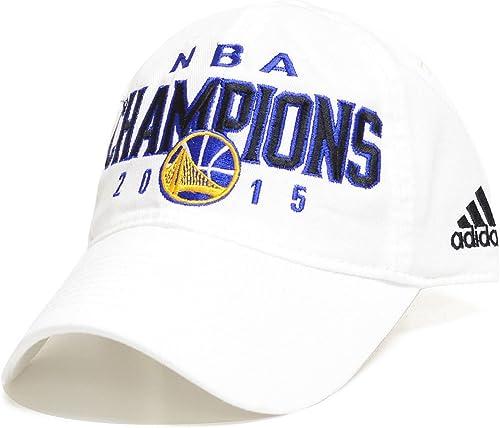 Adidas oren State Warriors 2015NBA Champions Flex Fit Hat