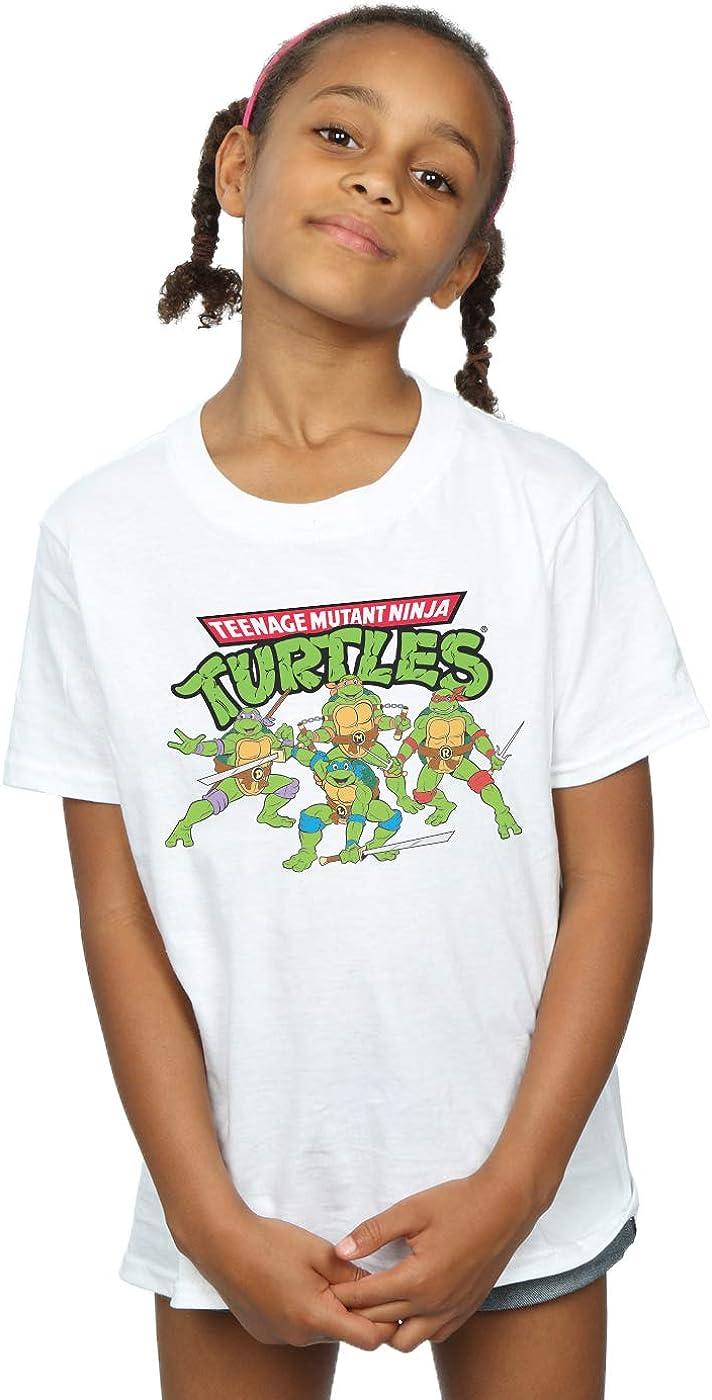 TMNT Girls Classic Cartoon Squad T-Shirt