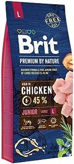 BRIT Premium Croquette pour Chiot Junior 15 kg Taille L