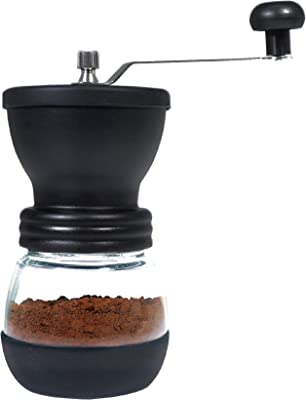 ハック コーヒーミルマルーン HAC2721 w10×d10×h18.5cm black