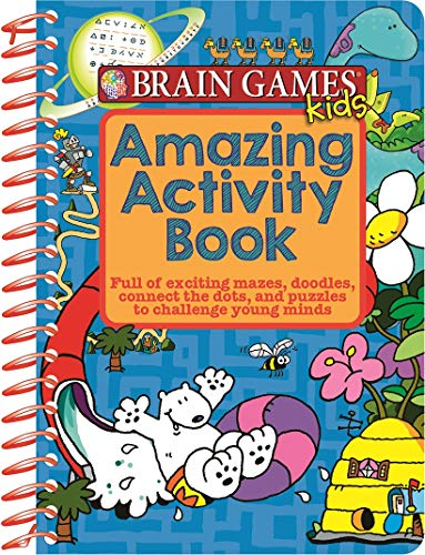 Brain Games Kids - Amazing Activity Book - PI Kids