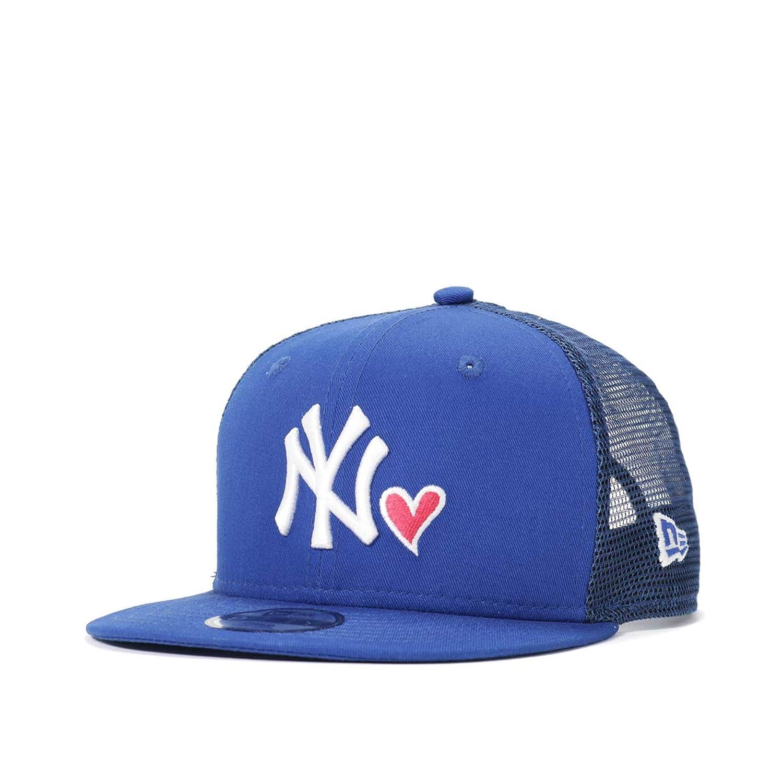 (ニューエラ) NEW ERA チャイルド キャップ スナップバック 9FIFTY WITH HEART MLB ニューヨークヤンキース CHILD FREE (サイズ調整可能)
