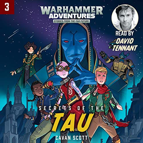 Warhammer Adventures: Secrets of the Tau audiobook cover art