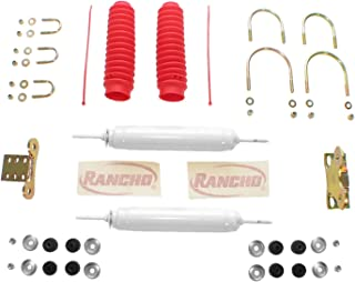 Rancho RS5000 Dual Steering Stabilizer + Mounts 1987 GMC V2500 4WD RS98501