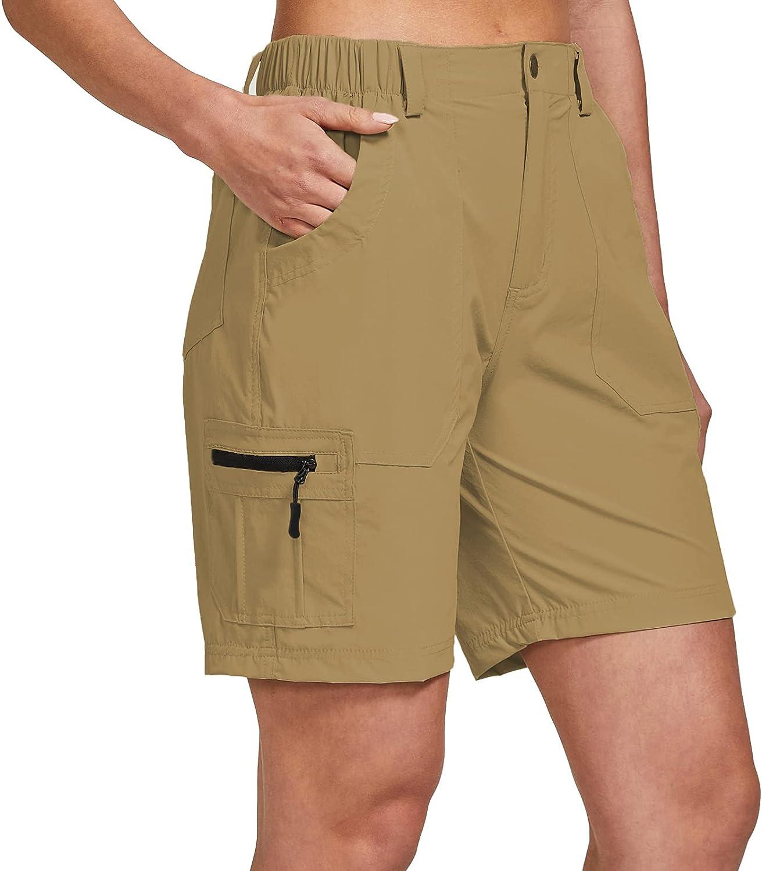 Max Finally resale start 77% OFF ChinFun Women's Stretch Cargo Q Hiking Shorts Lightweight