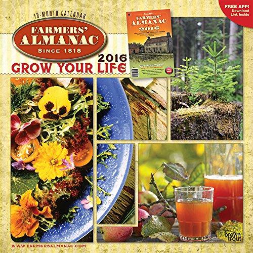 Farmers Almanac 2016 Wall Calendar