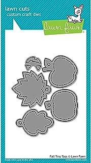 LAWN FAWN Cuts Custom Craft Dies: Fall Tiny Tags (LF1493)