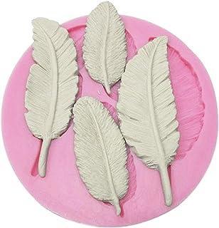Wady 2 DIY moule moule à gâteau en silicone forme décorative Forme Motif feuilles Fondant forme