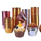 GiftPot 200 Pezzi Pirottini per muffin Pirottini di Carta Cupcake,Carta per Muffin per feste, matrimoni, feste di compleanno (set2)
