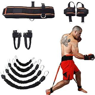 comprar comparacion YNXing Fuerza de Las piernas y Sistema de Correas de Entrenamiento de la Agilidad Cuerda de Entrenamiento de la Fuerza par...