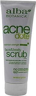 ALBA BOTANICA ACNEDOTE FACE&Body Scrub, 8 OZ