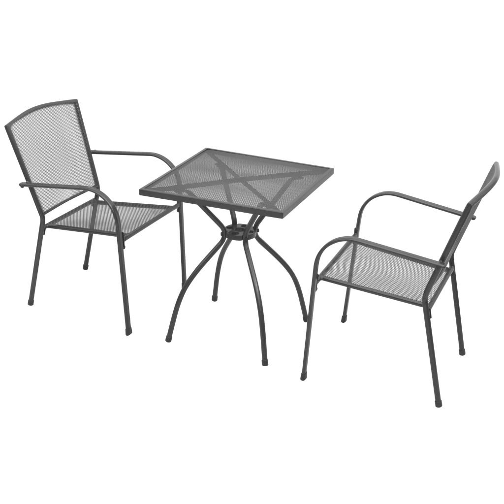mesa y 2 sillas de terraza diseño