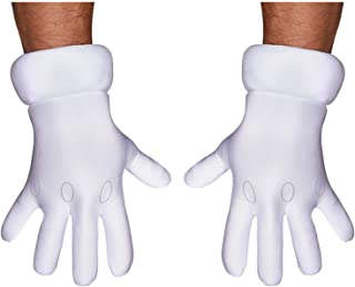 Disguise Men's Nintendo Super Mario Brothers Adult Gloves Costume Accessory