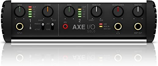 Axe I/O Solo Compact Audio Interface with Advanced Guitar Tone Shaping