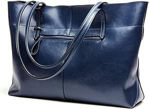 Covelin Women's Handbag Genuine Leather Tote Shoulder Bags Soft Hot