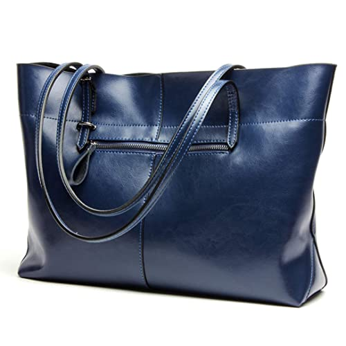 Covelin Women s Handbag Genuine Leather Tote Shoulder Bags Soft Hot 59c69600bd