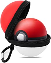 MoKo Case for Nintendo Switch Poke Ball Plus Controller, Portable Protective EVA Travel Carrying Case Travel Storage Bag f...