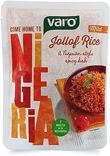Single Pack VARO Ready To Eat Jollof Rice (Mild Spicy). A Nigerian Style Spicy Dish (Original)