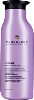 Pureology Hydrate Moisturizing Shampoo | For Medium to Thick Dry, Color Treated Hair |Sulfate-Free | Vegan