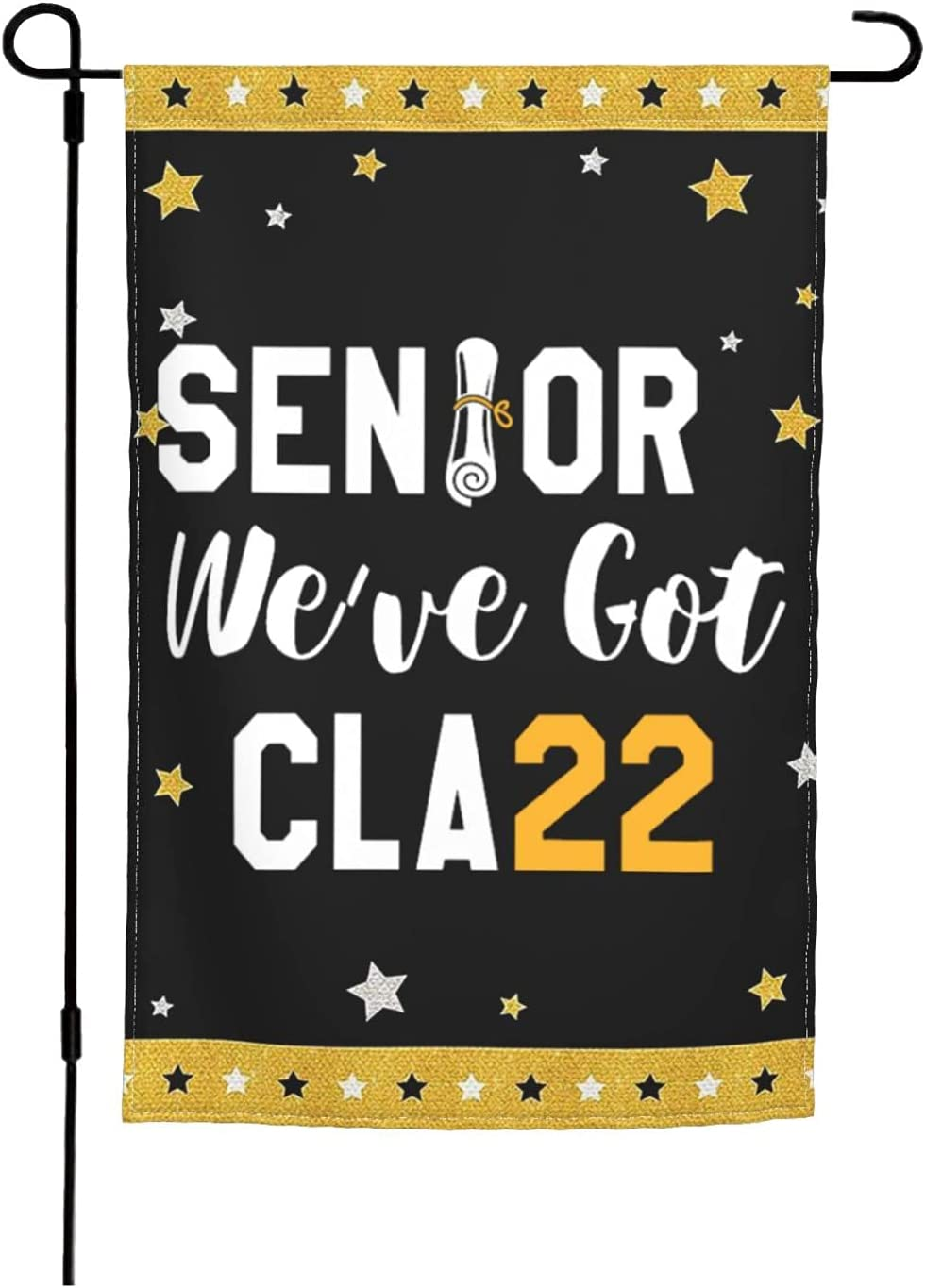 Welcome Back to Popular overseas School Banner Class Choice of Logo Double-S Senior 2022