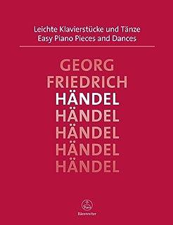 Easy Piano Pieces and Dances - Handel