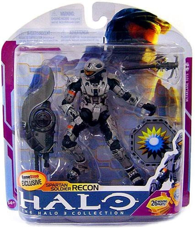 Halo 3 McFarlane Toys Series 6 MEDAL EDITION Exclusive Action Figure STEEL Spartan Recon