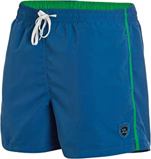 Zagano Milan Men's Swimming Trunks with Side Pockets, Back Pocket, Fashionable Men's Shorts, Swimming Leisure, Water Sport...