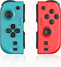 $38 » Sponsored Ad - Controller JoyCon for Nintendo Switch, Wireless Controllers Joy Con Left and Right Joy Pad Accessories Comp...