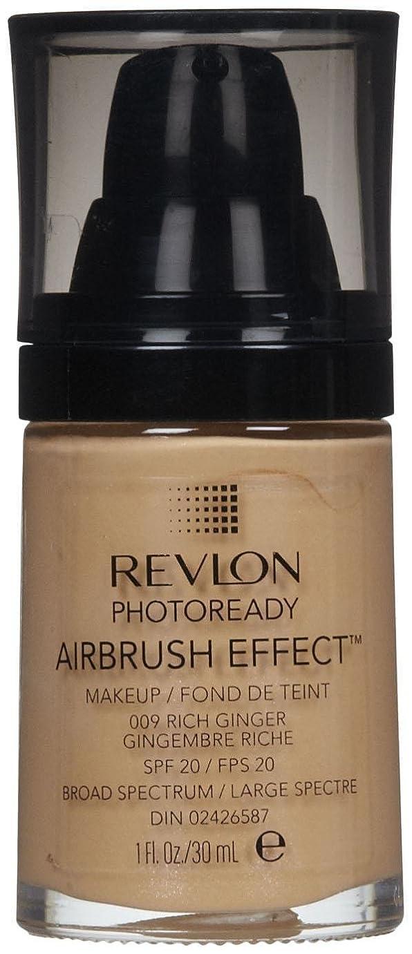 南方の恥ずかしさ相続人REVLON Photoready Airbrush Effect Makeup - Rich Ginger (並行輸入品)