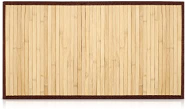 Amazon.fr : tapis de bain bambou