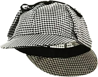 a982a4cd5d3 Sherlock Holmes Hat - Sherlock Holmes Costume - Detective Hat - Deerstalker  Hat by Funny Party